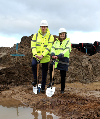 "Hermes starts work on new £31m UK Midlands ""Super Hub"""