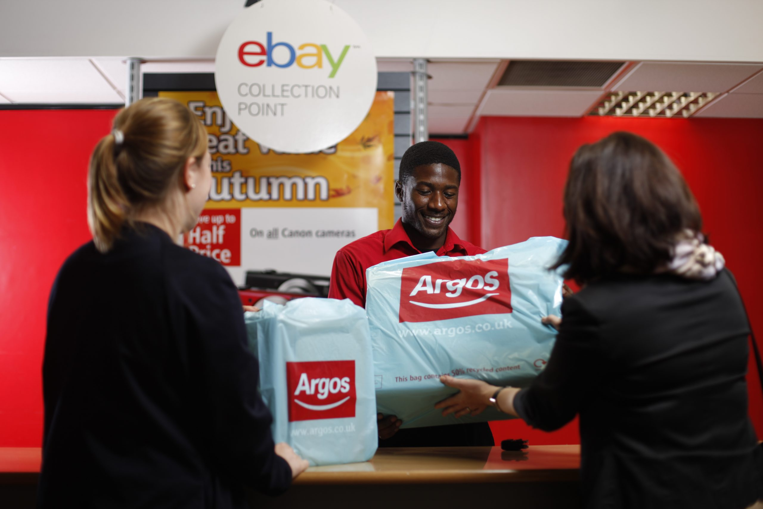 Argos and eBay to discontinue drop-off pilot