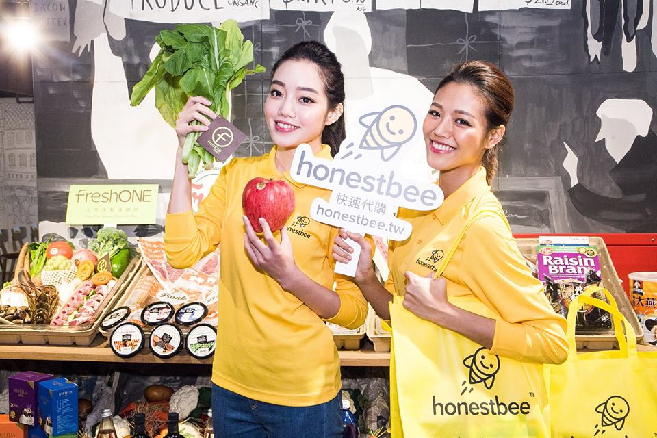 Grocery delivery company HonestBee launches in Taiwan
