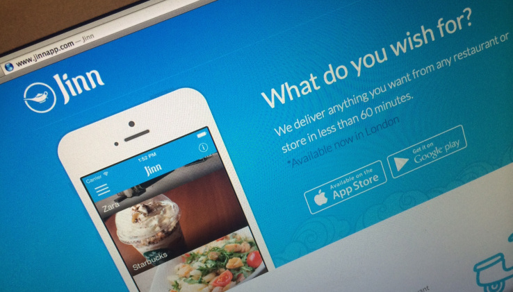 Jinn App offering breakfast delivery service