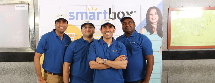 Smartbox launches parcel delivery terminals in New Delhi