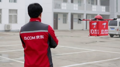 JD.com reportedly testing drones for rural deliveries