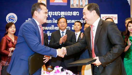 Kerry Express partnering with Cambodia Post