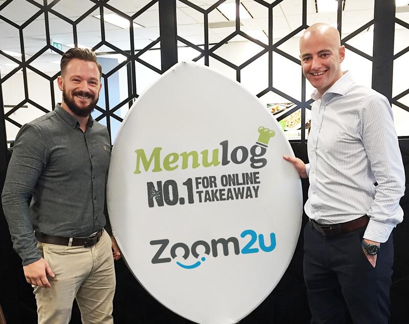 Zoom2U teams up with Menulog