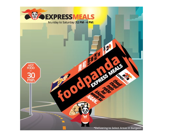 """foodpanda launches """"Express Meals"""" service in Gurgaon"""
