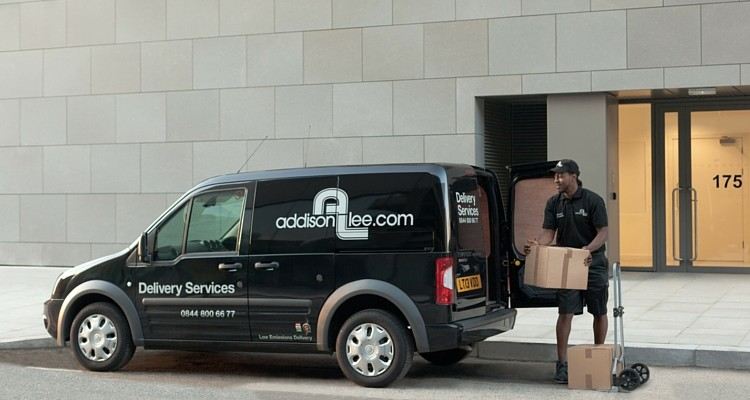 Addison Lee's courier service grew by 17% in 2015