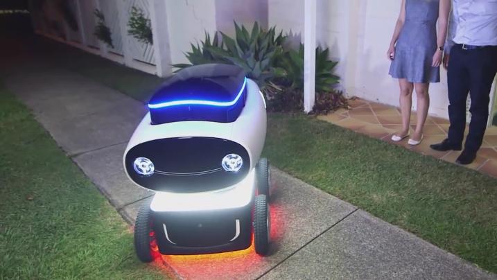 Domino's unveils prototype delivery robot