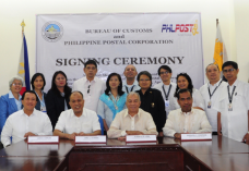PHLPost and Bureau of Customs sign MoA to speed up parcel deliveries
