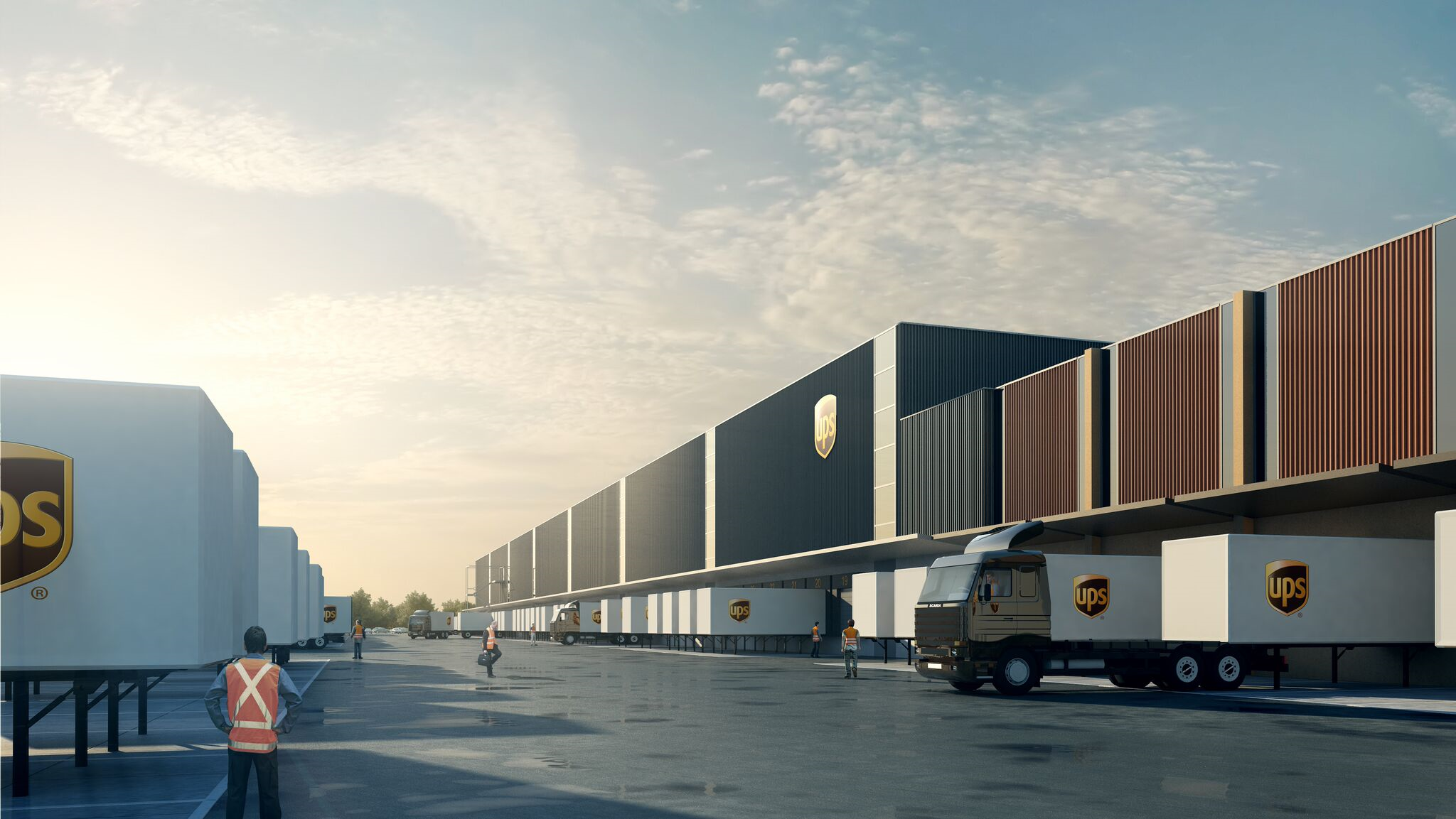 UPS unveils $80m project to expand Herne facility
