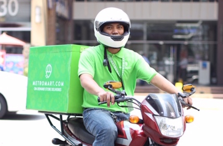 New delivery start-up in Manila