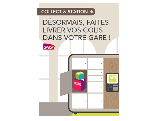 SNCF and Le Groupe La Post announce national roll-out for parcel lockers