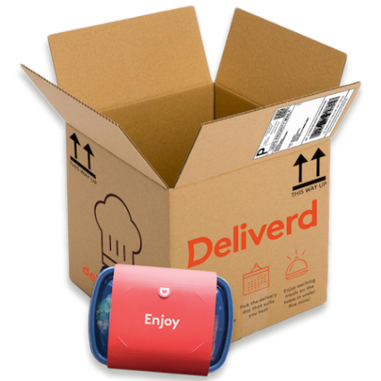Deliverd launches UK-wide next-day meal delivery service