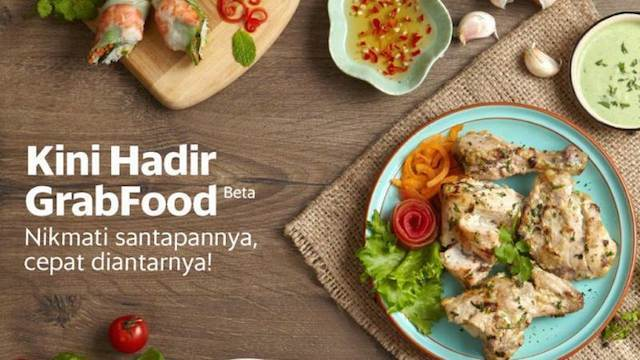 Grab launches food delivery in Jakarta
