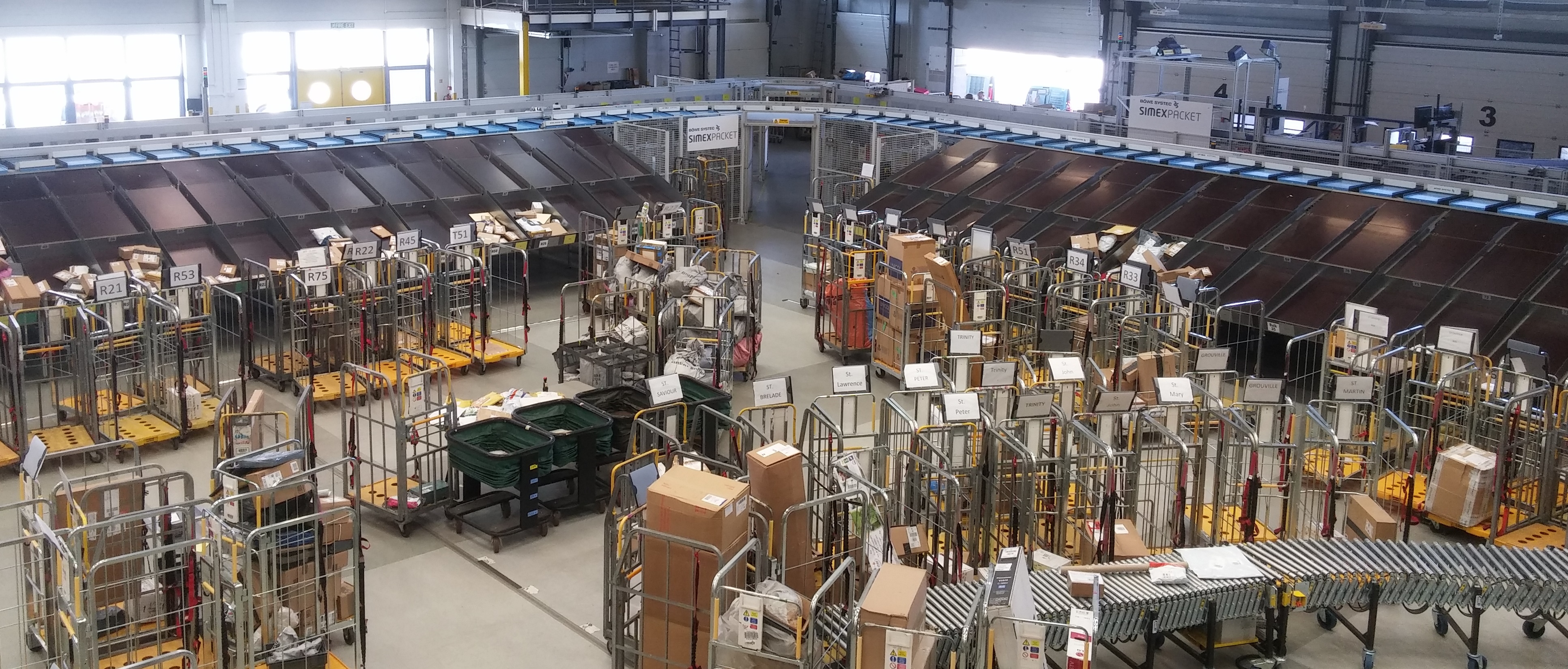 Jersey Post invests in parcel automation system