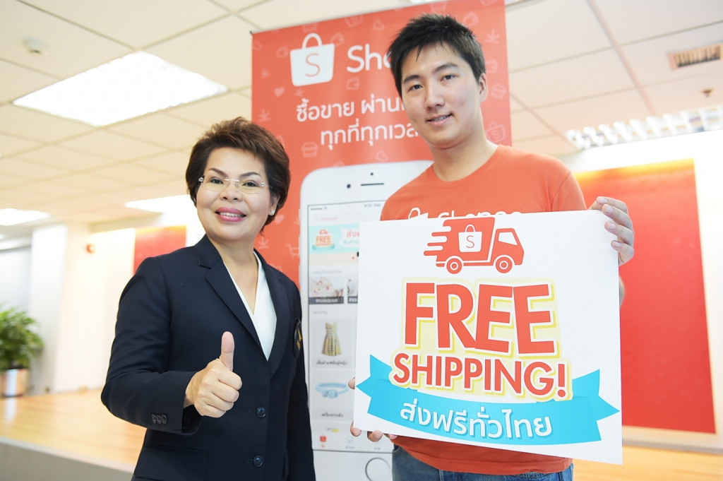 Thailand Post and Shopee team up on free delivery service