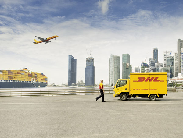 DHL Freight expands connections between Asia, Europe and North Africa