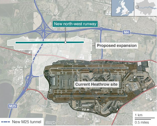 Green light for Heathrow expansion