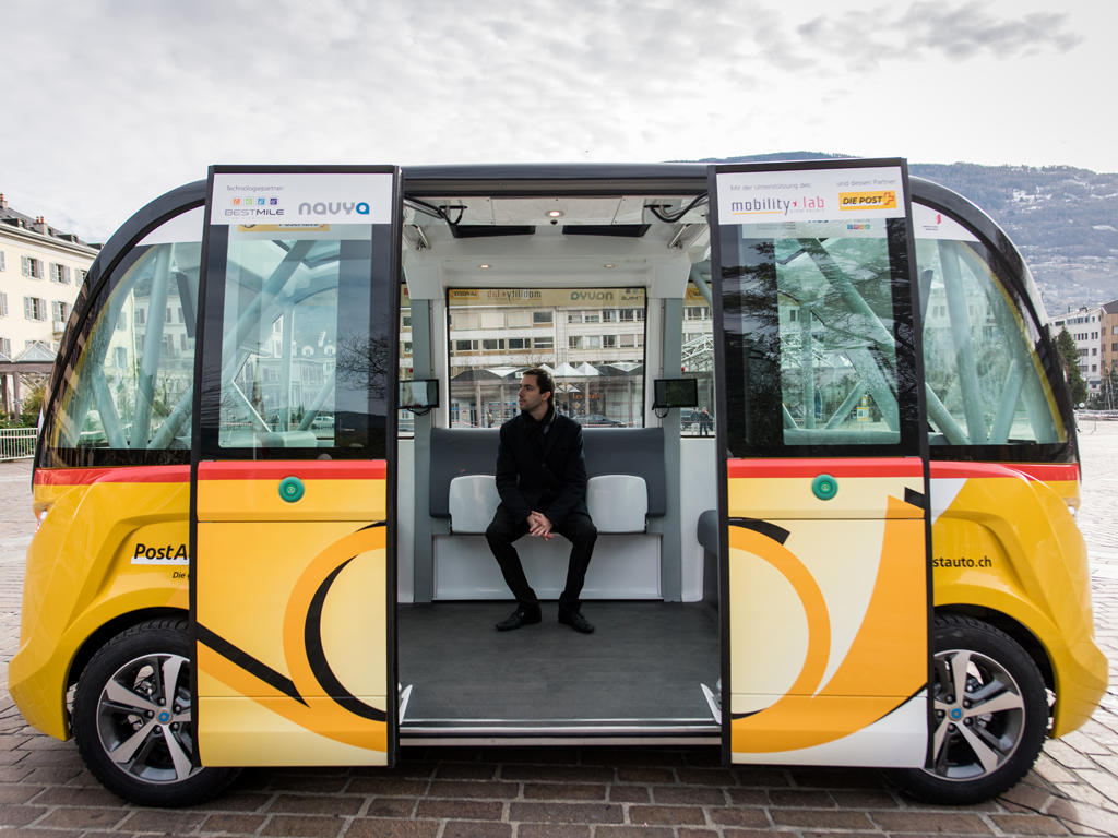 Swiss Post's PostBus starts public testing of self-driving buses