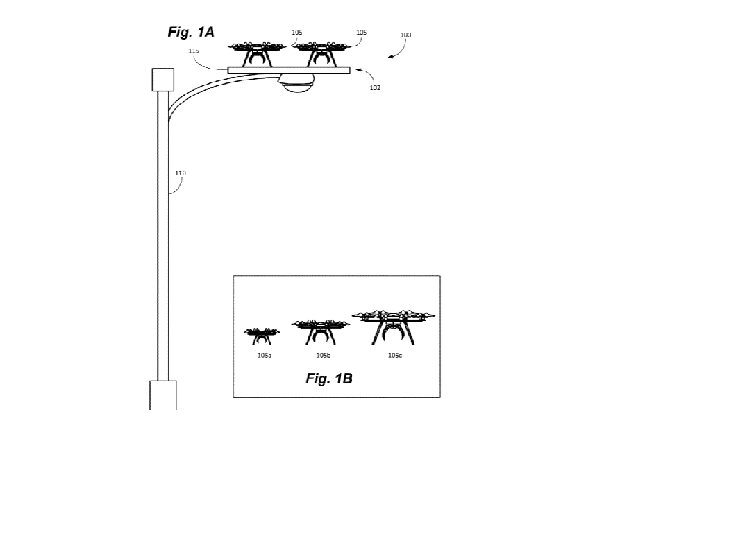 Amazon granted patent for drone docking station system