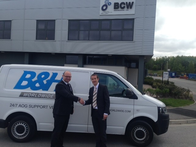 BCW Engineering appoints B&H Worldwide to manage inbound deliveries