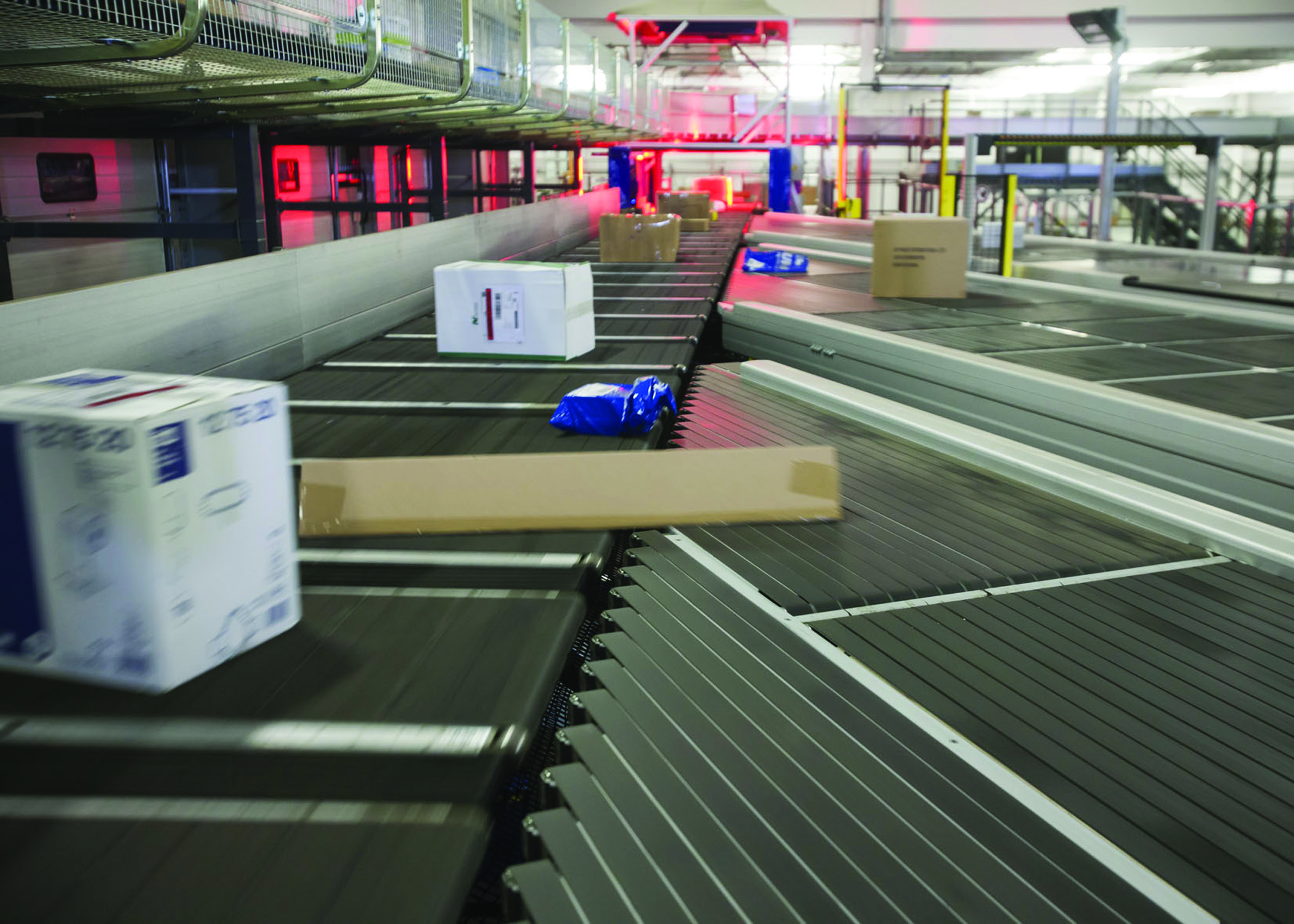 Freightways using BEUMER sortation system in new South Island Hub