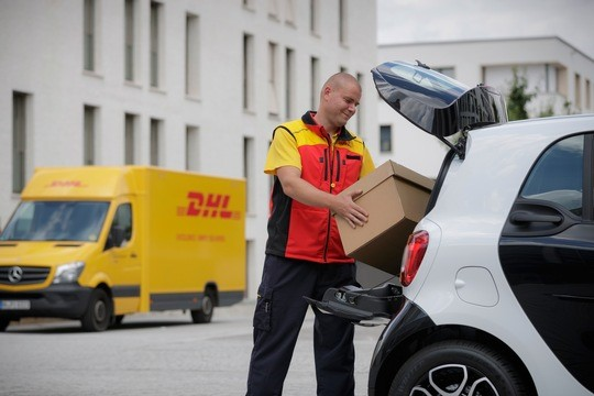 DHL and Smart team up for car trunk delivery pilot