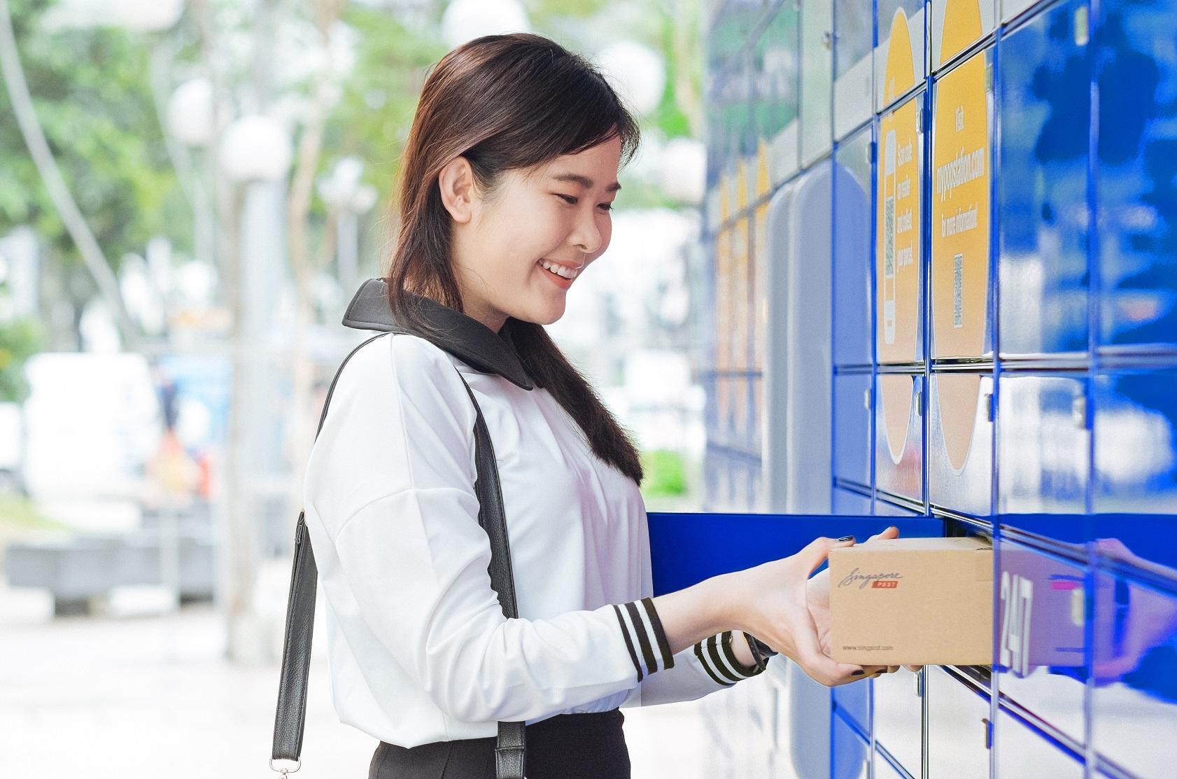 SingPost introduces Singapore's first islandwide open parcel locker service