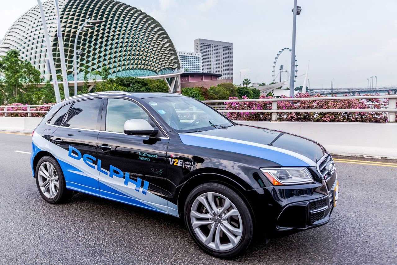 Mobileye and Delphi plan to have a Level 4/5 autonomous driving system ready by 2019