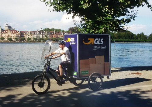 Eco biking solution for GLS