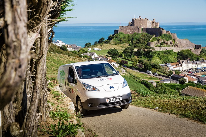 Jersey Post introduces electric post vans