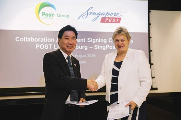 POST Luxembourg and SingPost sign strategic agreement