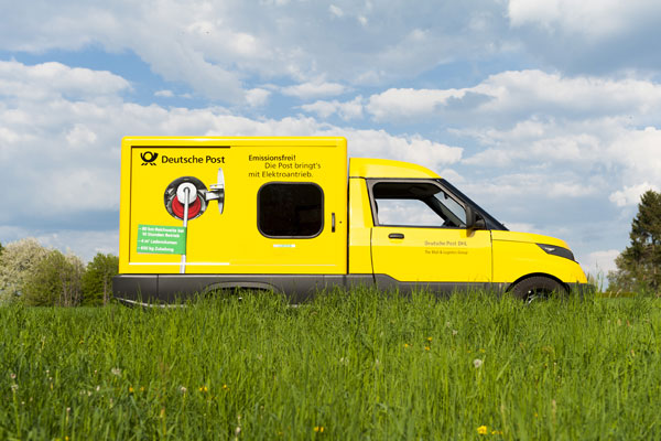 Deutsche Post DHL planning to start selling StreetScooter electric vehicles in 2017