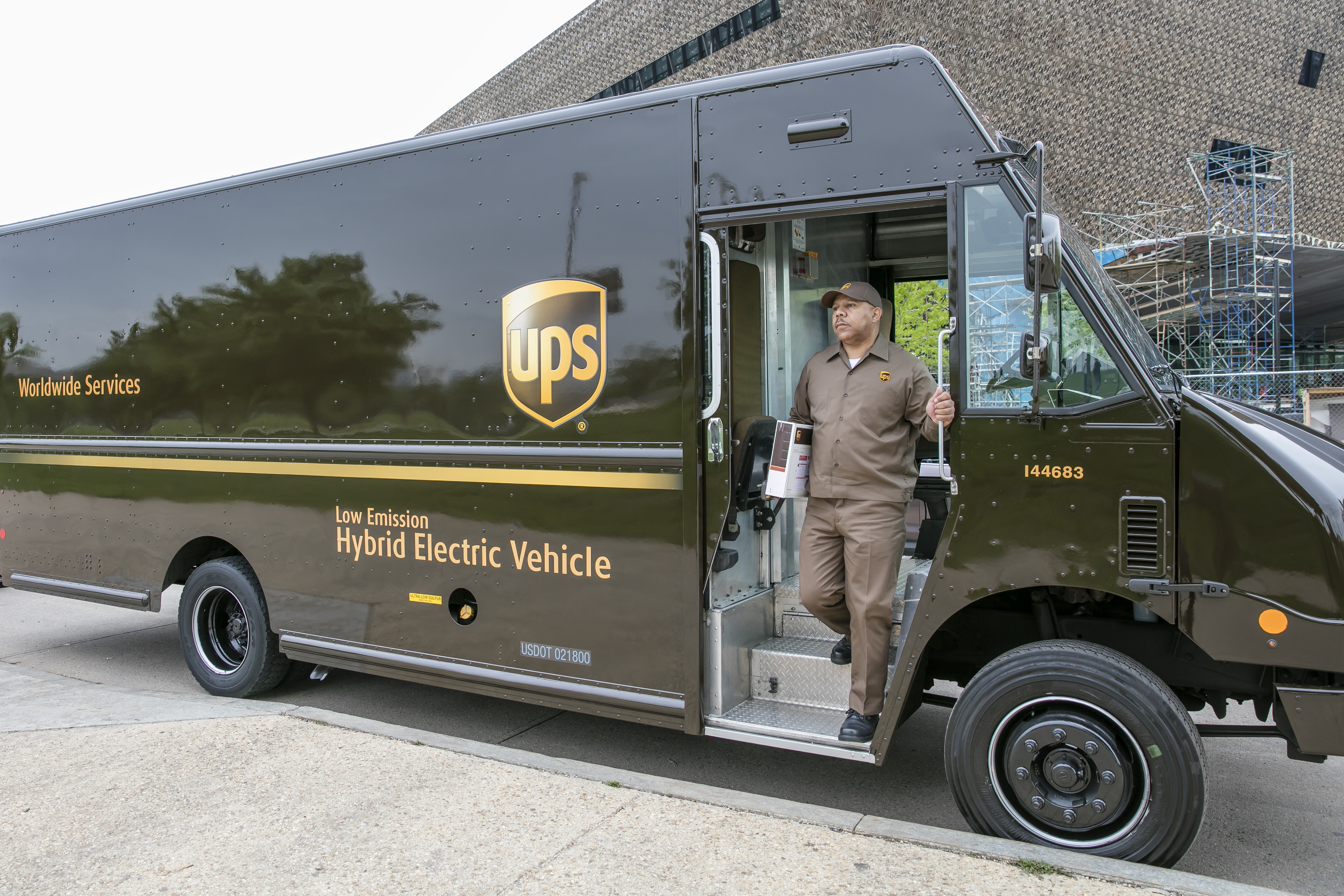 "UPS clocks up 1bn ""cleaner"" miles ahead of schedule"