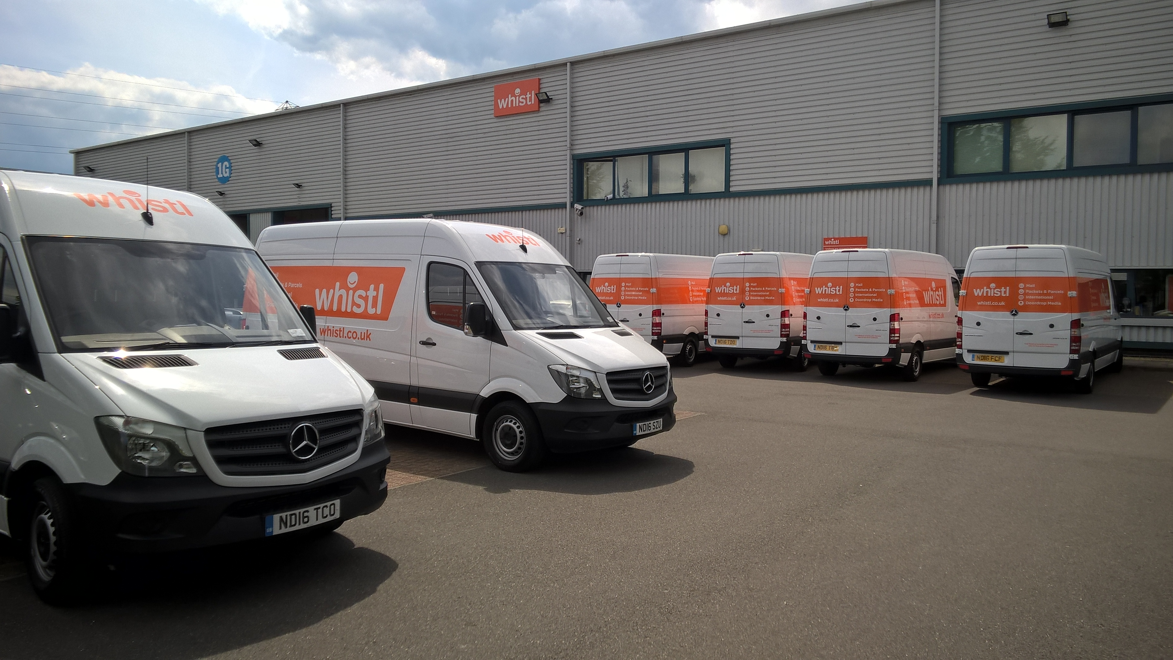 Whistl invests £3m in van fleet renewal