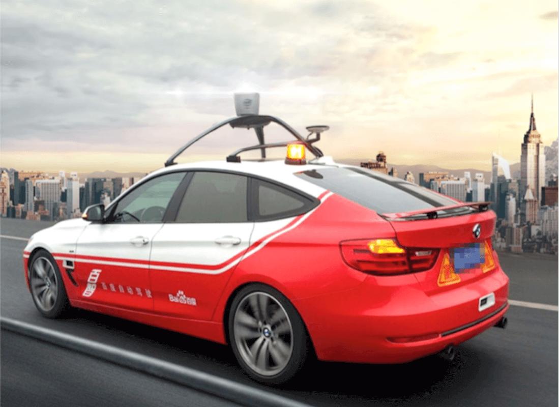 Baidu awarded Californian autonomous vehicle testing permit