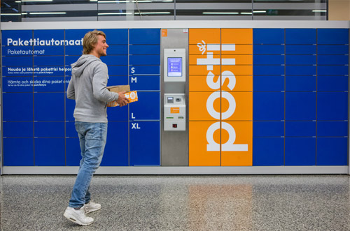 Posti lowers cost of sending parcels via self-service channels