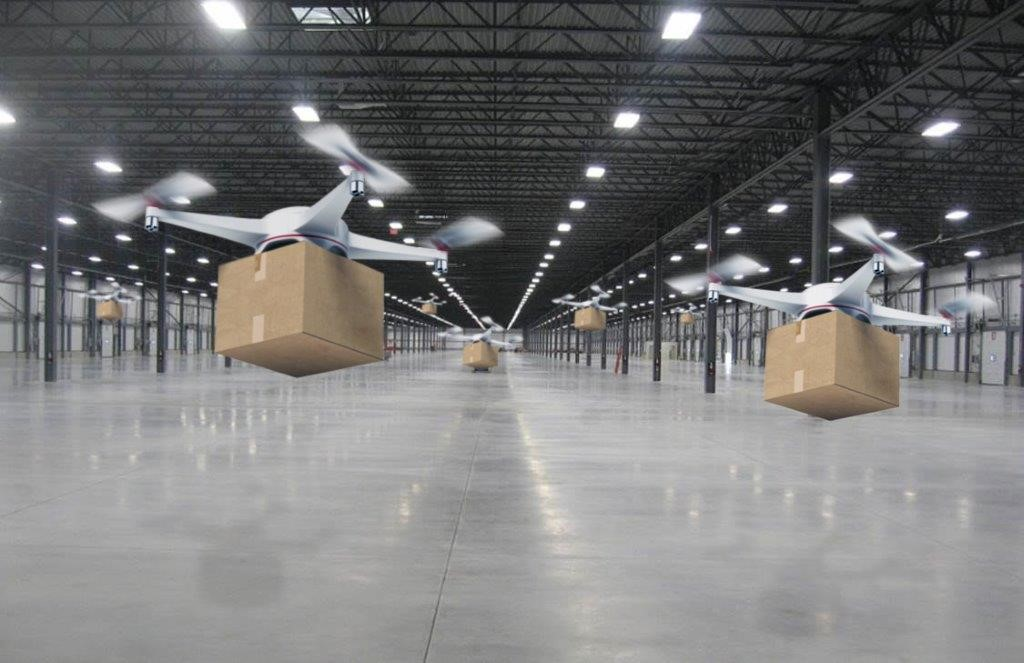 Pilot for drone-based sorting centre