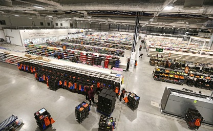 Sainsbury's opens online grocery fulfilment centre in London
