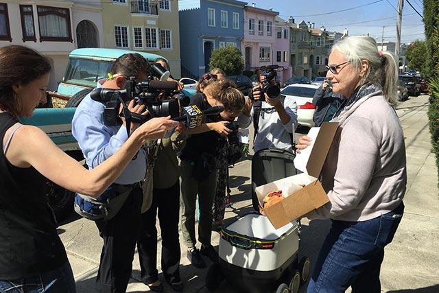 Starship robots hit the Streets of San Francisco