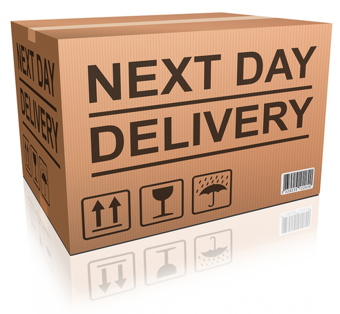 """More orders using 'next day' delivery than 'economy' for first time"""