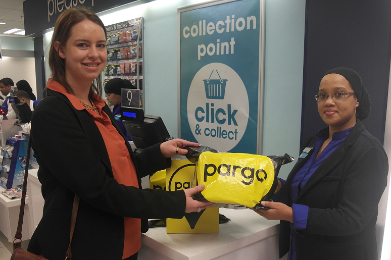 Click and collect at Clicks stores
