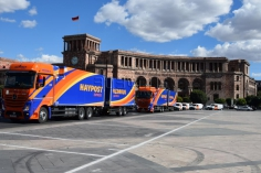 HayPost offering weekly mail and cargo services between Armenia and Europe