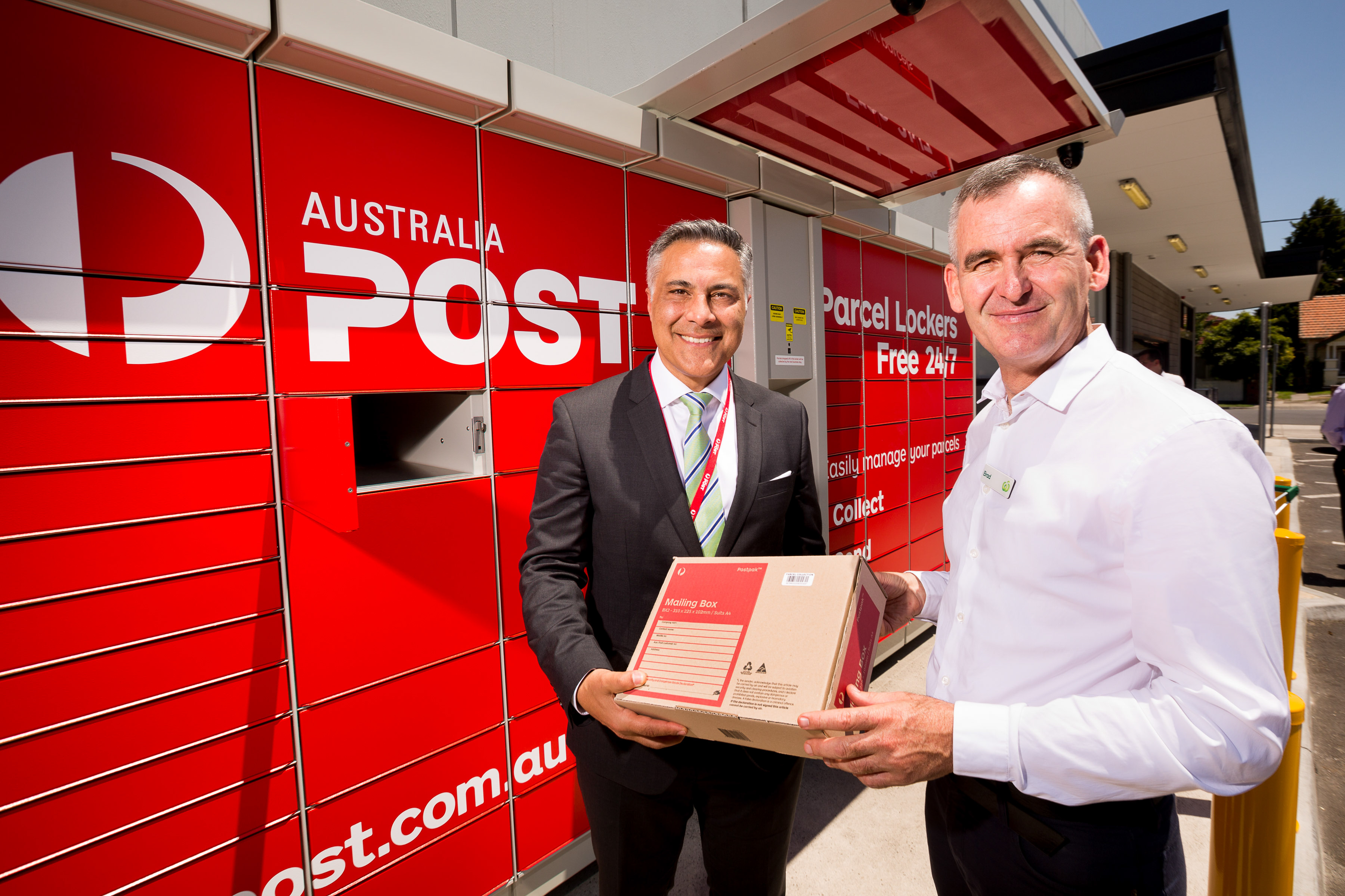 Australia Post installing parcel lockers in Woolworths stores