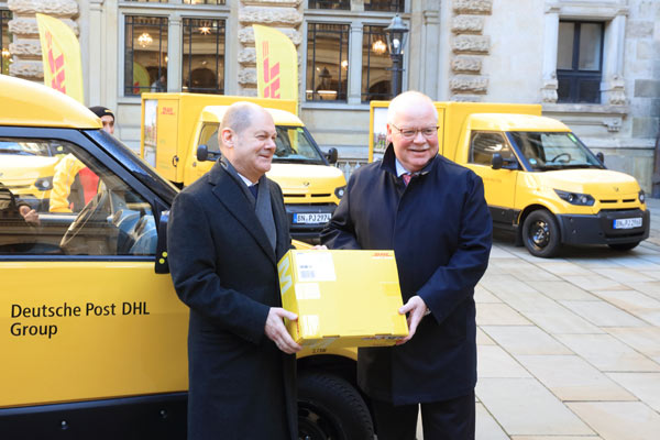 Deutsche Post DHL and City of Hamburg partnering on green delivery infrastructure