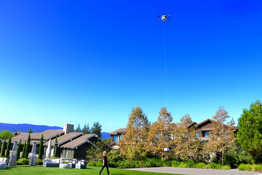 Flirtey conducts first Silicon Valley drone delivery