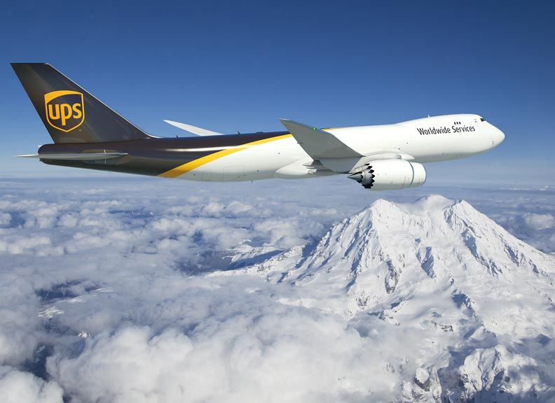 UPS orders 14 new Boeing 747 cargo jets