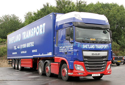 DFDS buying Shetland Transport