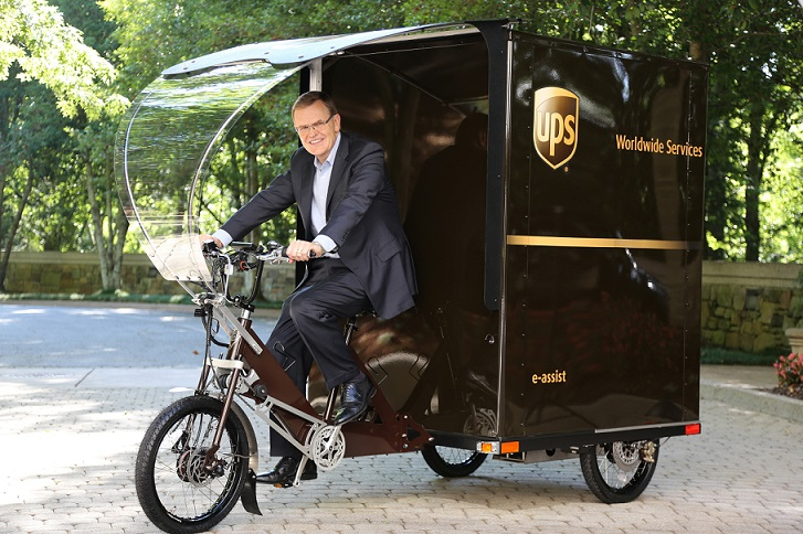 UPS unveils first eBike in the US