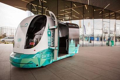 Driverless vehicle tests get underway in Greenwich