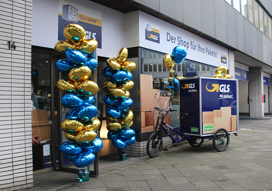 "GLS opens ""environmentally friendly"" PaketShop in Dusseldorf"